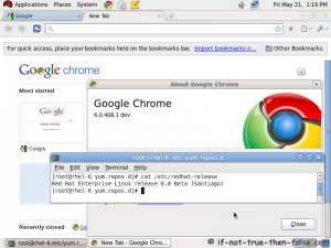 Cài đặt Google Chrome với YUM trên Fedora/CentOS/RHEL